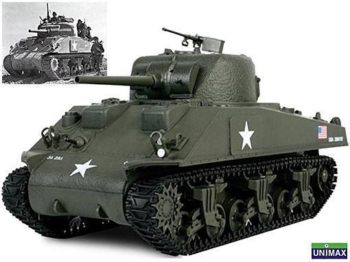 Tanques-da-Segunda-Guerra-Mundial-Escala-1-18-M4-Sherman
