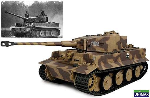 Tanques-da-Segunda-Guerra-Mundial-Escala-1-18-Tiger-I