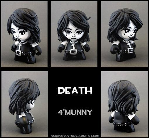 MUNNY-Death-Sandman-Customizada