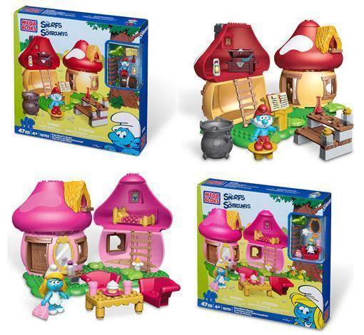 Mega-Bloks-Smurfs-Medium-Playsets-01