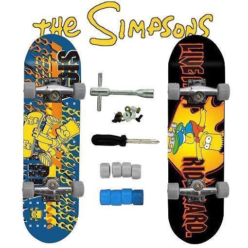 Skates-de-Dedo-Bart-Simpson