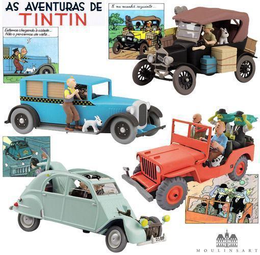 Tintin-Carros-Serie-2-BdB