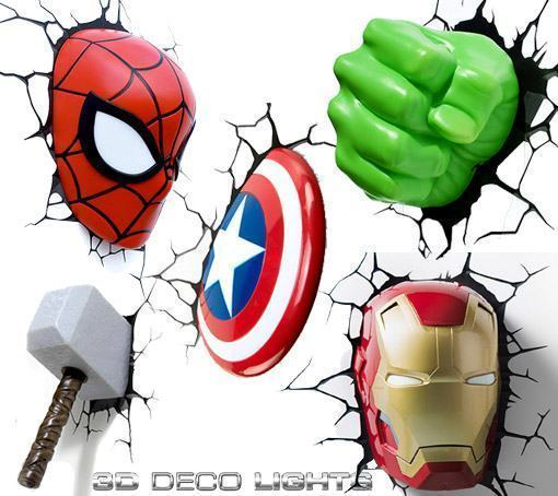 Iron Man Mask moreover Star Wars Mini likewise 331744248284 additionally 231146021941 as well Thor Hammer 3d Deco Light 117415072. on 3d light fx deco lights thor hammer