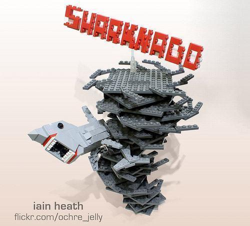 Sharknado-LEGO