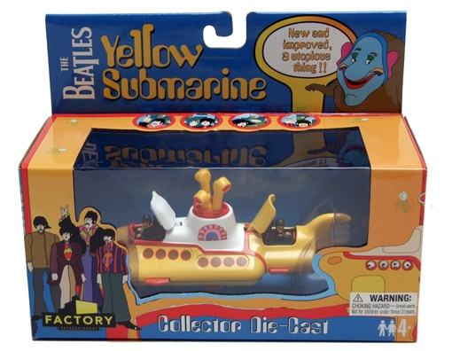 Beatles-Yellow-Submarine-Die-Cast-Vehicle-04