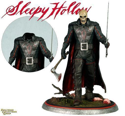 Sleepy-Hollow-Movie-Headless-Horseman-Statue