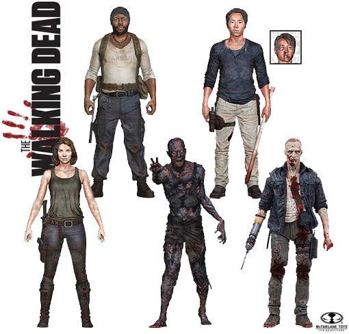 The-Walking-Dead-TV-Series-5-Action-Figure-Set