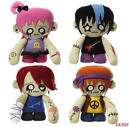 Zombies-Plush-Set-Gund-01