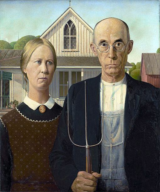 American-Gothic-by-Grant-Wood