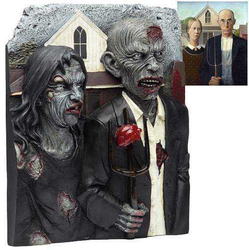 American-Zombie-Gothic-3D-Wall-Plaque-01