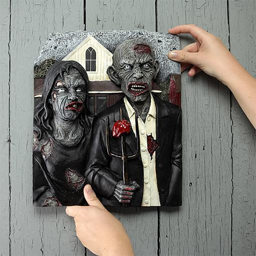 American-Zombie-Gothic-3D-Wall-Plaque-02