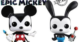 Bonecos Pop! do Game Epic Mickey