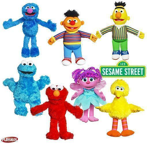 Sesame-Street-Mini-Plush-Pals-Wave-2-Pelucia