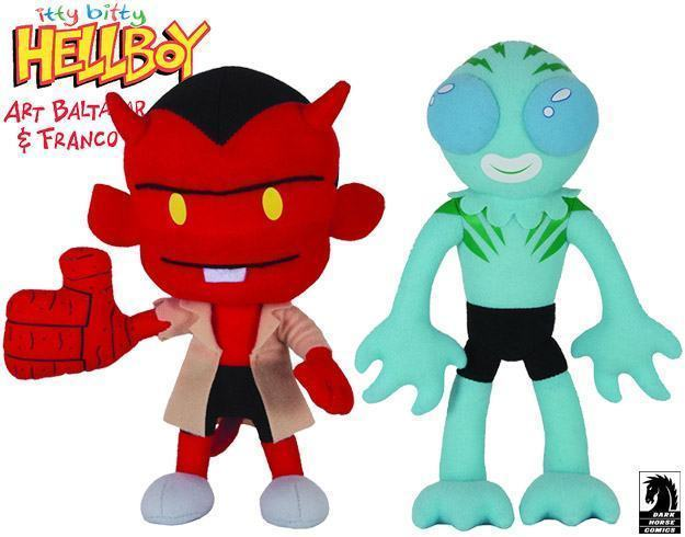 Hellboy-and-Abe-Sapien-Itty-Bitty-Plush-Toys