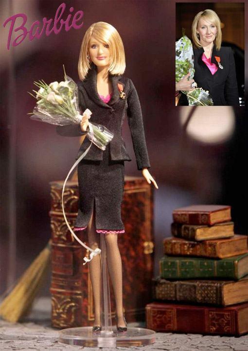 JK Rowling Barbie – Homenagem a Escritora de Harry Potter
