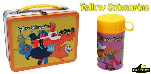 Lancheira-The-Beatles-Yellow-Submarine-Retro-Style-Metal-Lunch-Box