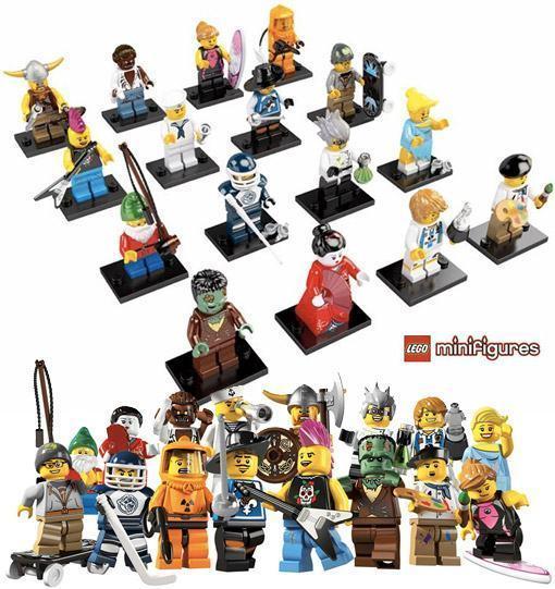 gnomos de jardim venda : gnomos de jardim venda:Quarta Série Blind Box de Mini-Figuras LEGO « Blog de Brinquedo