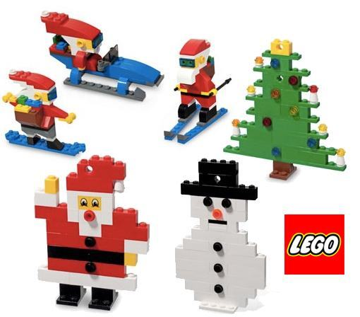 lego de natal papai noel rvore de natal e boneco de. Black Bedroom Furniture Sets. Home Design Ideas