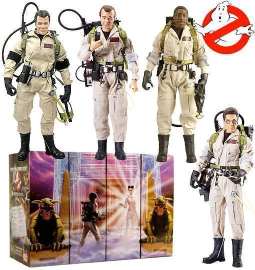 "Ghostbusters: Action Figures 12"" dos 4 Caça-Fantasmas ..."