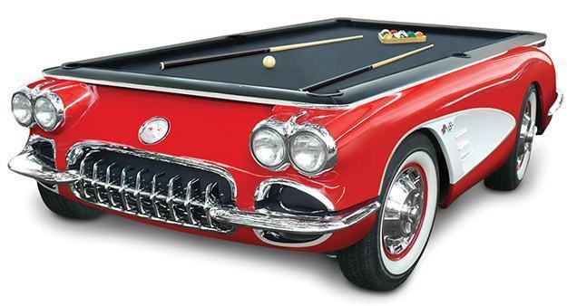 Mesa-Sinuca-1959-Corvette-Billiards-Table