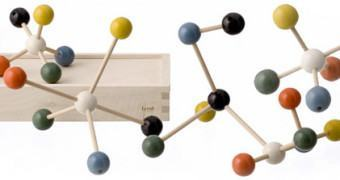 Kit de Montar Estruturas de Moléculas