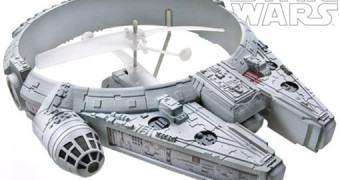 R/C Millennium Falcon Voa de Verdade!