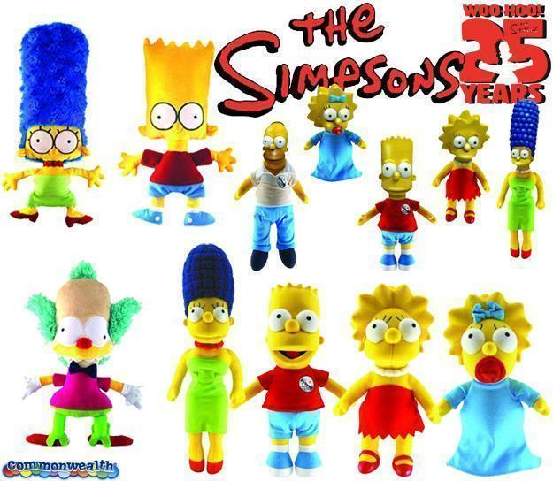 Simpsons-25th-Anniversary-Plush-Sets-01