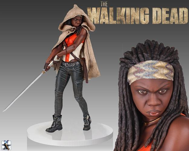 Walking-Dead-Michonne-Gentle-Giant-Estatua-01