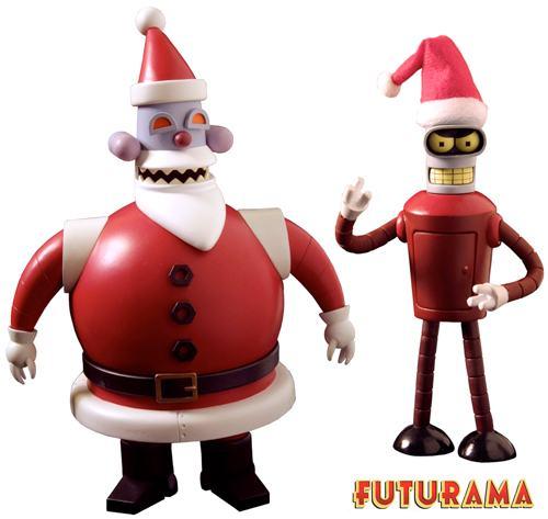 Natal de Futurama: Robô Noel e Noel Bender « Blog de Brinquedo
