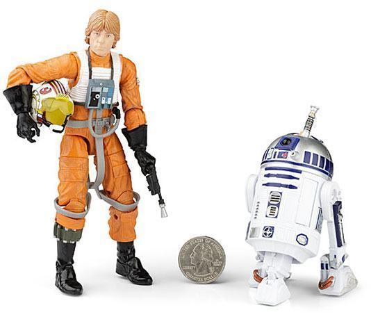 """Luke Skywalker e R2-D2 de 6"""""""