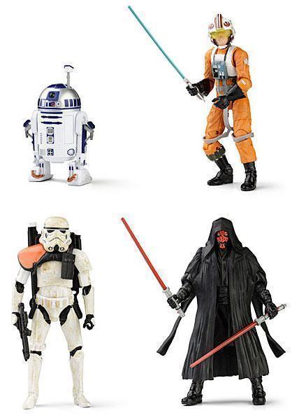 "Bonecos Star Wars de 6"" da Hasbro"