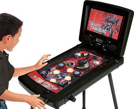Transformers pinball blog de brinquedo for Pinball de mesa