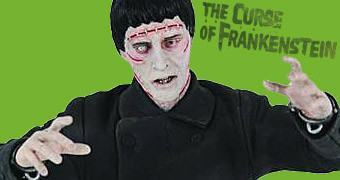 Sir Christopher Lee como o Monstro do Dr. Frankenstein – Maxi Bust Hammer Horror