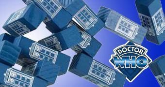 JENGA: Doctor Who TARDIS