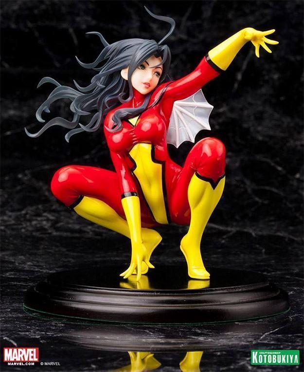 Estatua-Spider-Woman-Bishoujo-03