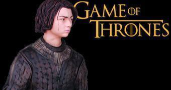 Estátua de Arya Stark – Dark Horse Game of Thrones