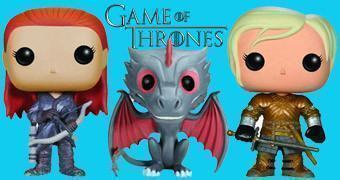 Bonecos Game of Thrones Pop! Série 3: Ygritte, Brienne, Drogon e Hodor
