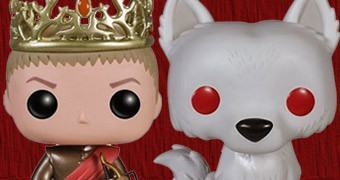 Bonecos Game of Thrones Pop! Série 3: Rei Joffrey, Tywin, Ghost e Daenerys