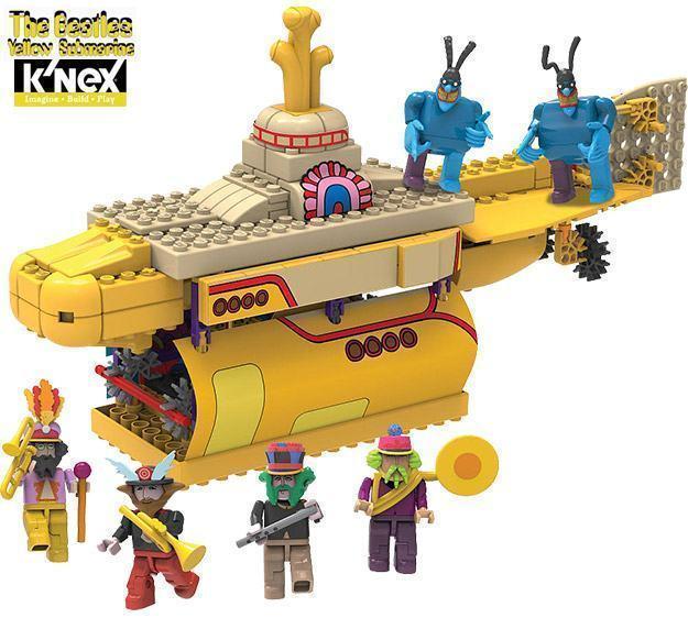 KNEX-Beatles-Yellow-Submarine-02