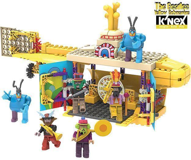 KNEX-Beatles-Yellow-Submarine-03