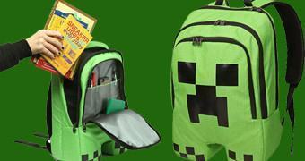 Mochila Minecraft Creeper