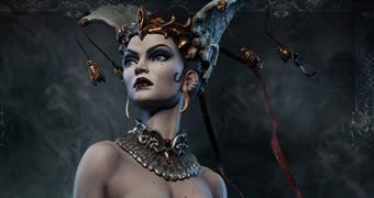 Queen Of The Dead Premium Format – Estátua Sideshow Rainha dos Mortos
