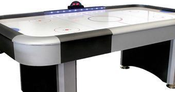Mesa de Air Hockey com LEDs