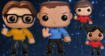 Bonecos Funko Pop! The Big Bang Theory Star Trek