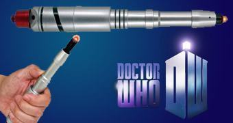 War Doctor Sonic Screwdriver – Chave de Fenda Sônica do Doctor de John Hurt