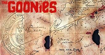Os Goonies: Mapa do Tesouro do Pirata Willy Caolho