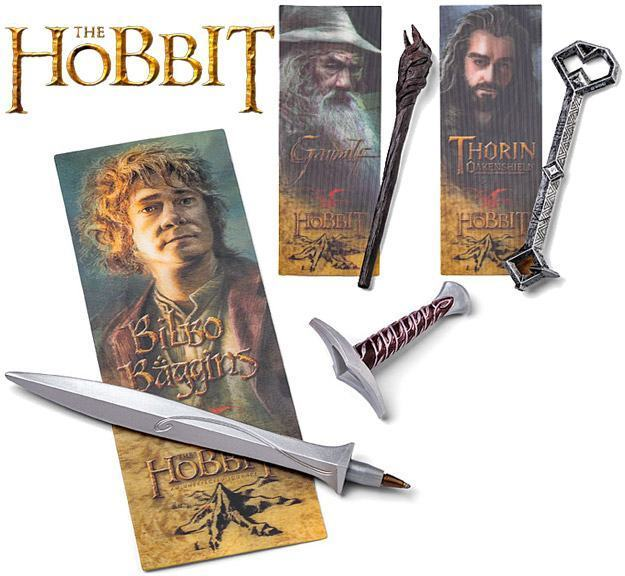 The-Hobbit-Pen-and-Lenticular-Bookmark-Sets-Canetas-01