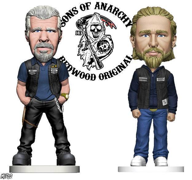 Bobble-Heads-Sons-of-Anarchy-Clay-Morrow-e-Jax-Teller-01