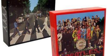 Cofres Beatles: Abbey Road  e Sgt. Pepper's Lonely Hearts Club Band