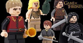 Mini-Figuras LEGO Game of Thrones: Ned, Jon Snow, Arya, Tyrion e Daenerys
